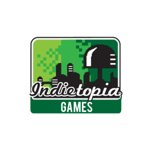 The Logo for Indietopia Games Publishing and Games Store